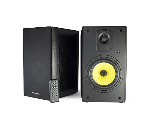 Thonet and Vander Kugel Bluetooth Bookshelf Speakers (700 Peak Watts) Active Near-Field...