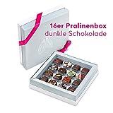 Pott au Chocolat Gourmet-Reise - Geschenk-Box mit 16 Pralinen, handgemacht aus hochwertigem Edel-Kakao und frischen Zutaten - perfekt für jeden Anlass, als Dankeschön, liebe Gäste, die...