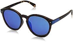 Polaroid Sunglasses Pld6034fs Polarized Oval Sunglasses, Matt Hvna, 54 mm