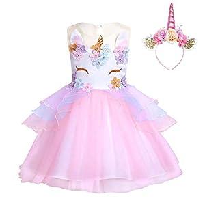 FONLAM Vestido de Fiesta Princesa