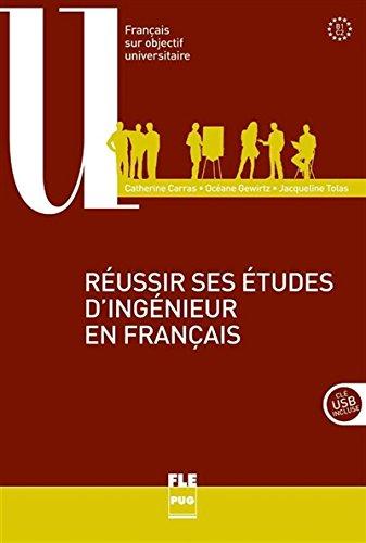 Réussir ses études d'ingénieur en français B1-C2 (1DVD)