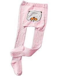Mitlfuny Niños Invierno Calentar Pantimedias Chicas Niñas Calcetines Largos Medias de Algodón Dibujos Animados para Bebés