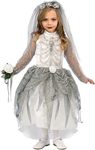 Kinderkostüm Mädchen Sugar Skull Skelett Braut Gr. M - Forum Novelties Skeleton Bride Costume
