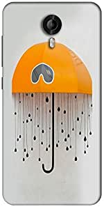 Snoogg Battery Animated Designer Protective Back Case Cover For Micromax Canvas Nitro 3 E455