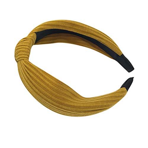EERTX - ♛♛ Haar Stirnband Damen Haarband Yoga Headband Hairband Frauen Stoff Haarreif mit Schleife-Vintage-Wunderschön Stirnband,Haarschmuck Haarreif mit Schleife-Vintage-Wunderschön Stirnband