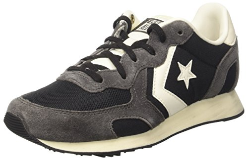 Converse Unisex-Erwachsene Auckland Racer Ox Sneakers Schwarz (Black/iron/natural)