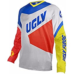 Uglyfrog 2018 Ropa de Descenso MTB Manga Larga Maillot de Ciclismo Moto Cross Enduro Downhill Jersey Z02