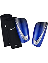Nike Cristiano Ronaldo 7 Mercurial Lite - Espinilleras, color azul, talla S