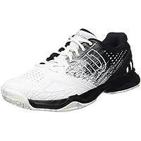 Wilson Homme Chaussures de Tennis, Idéal pour les joueurs offensifs, Pour tout type de terrain, KAOS COMP, Tissu Synthétique