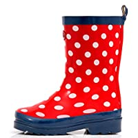 Outee Kids Boys Girls Wellies Wellingtons Rain Boots