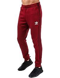 747e6d95c3 adidas Originals Track Pant Uomo Superstar SST Pantaloni da Ginnastica  Trefoil Slim Fit Pant New BQ7784
