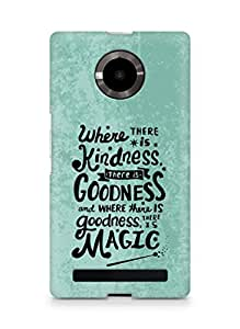 AMEZ where there is kindness there is goodness Back Cover For YU Yupheria