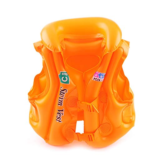 Lightleopard Tuta da Nuoto per Bambini Gonfiabile per Bambini