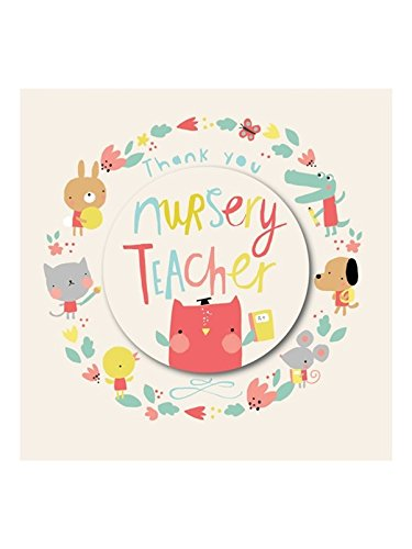 Rachel Ellen Thank You Card - Thank You Nursery Teacher