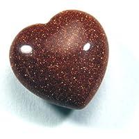 Herz Goldfluss (Kunstglas) 20 mm preisvergleich bei billige-tabletten.eu