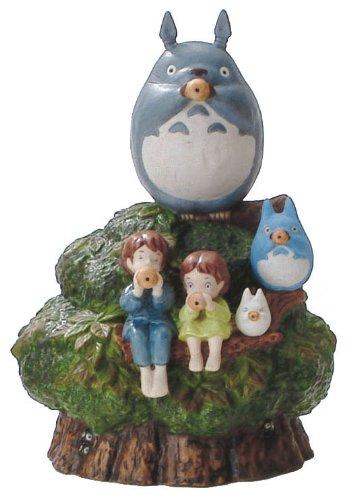 Studio Ghibli Mein Nachbar Totoro Keramik Music Box (Spielen Okarina)