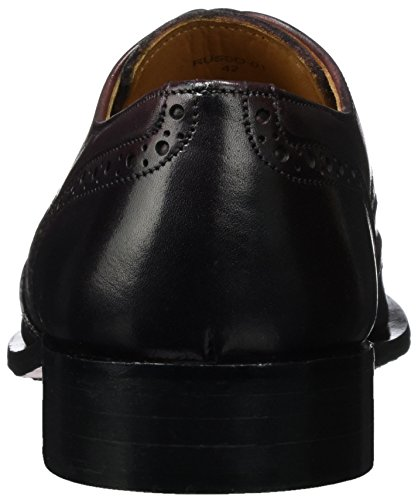 Cinque Russo-01, Brogues Homme Rot (Burgundy)
