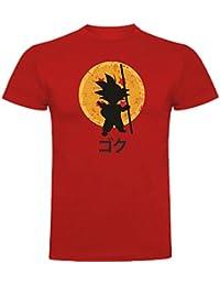 The Fan Tee Camiseta de Mujer Dragon Ball Son Goku Anime Vegeta Piccolo Akira Toriyama