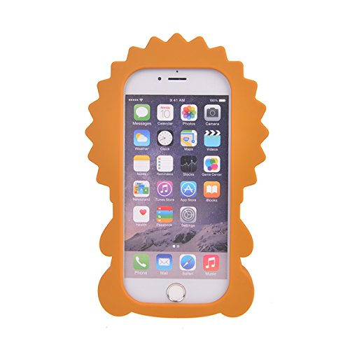 iPhone 6/ 6S (4.7 inches) Hülle,COOLKE 3D Fashion Klassische Karikatur weiche Silikon Shell Schutzhülle Hülle case cover für Apple iPhone 6/ 6S (4.7 inches) - 014 007