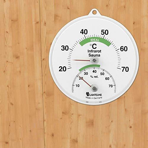 Sauna Kombi Thermometer für Infrarotkabinen - 2