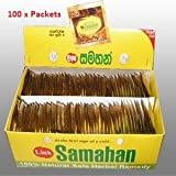 SAMAHAN Ayurvedic Ceylon Herbal Tea  100 sachets