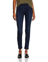Vero Moda Vmflex-It Nw Slim Jegg Dk Bl Vi055 Noos, Jeans Femme
