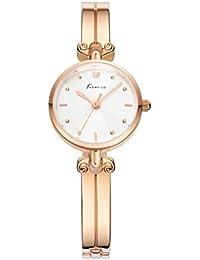 Wishor Kimio preciosa pulsera de la aleaci¨®n del reloj relojes de moda femenina fresca escala de la forma m¨¢s singular Rosa