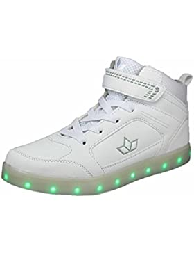 Lico Unisex-Kinder Disco High Hohe Sneaker