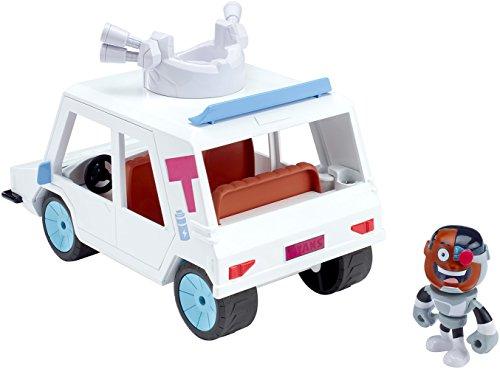Teen Titans Go!. dxr06t-car und Cyborg Fahrzeug/Figur