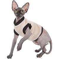 Kotomoda ropa para gatos BIEGE FLEECE (M)