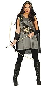 Guirca- Disfraz adulta arquera, Talla 42-44 (84573.0)