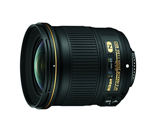 Nikon AF-S Nikkor 24mm 1:1.8G ED Objektiv (72 mm Filtergewinde) für Nikon-F-Bajonett schwarz Nikon D100 Dslr