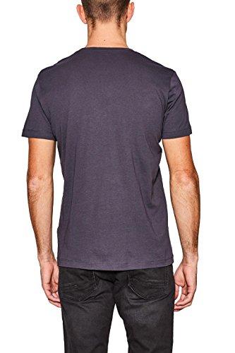 ESPRIT Herren T-Shirt Grau (Anthracite 010)