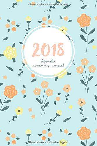 Agenda 2018 semanal y mensual: Calendario/Planificador y notas