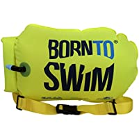 Bormioli nto Swim saferswimmer Boya y Pack Saco, Fluorescente Verde, 64x 30x 0,05cm