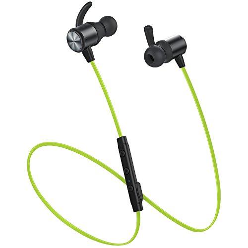 Bluetooth Kopfhörer, Vismera Bluetooth 4.1 in ear kopfhörer magnetische Lauf-Kopfhörer schweißsicher Stereo Sport Geräuschunterdrückende wireless Kopfhörer mit Mikrofon für Workout Fitnessstudio