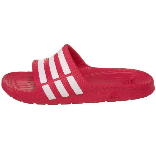 adidas Unisex-Kinder Duramo Slide Dusch-& Badeschuhe, Pink (Pink Buzz / Running White Ftw / Pink Buzz), 32 - UK 13k - 19 cm -