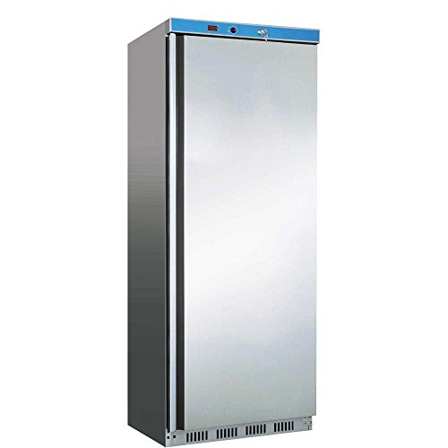 Edelstahl Tiefkühlschrank 600L Gewerbe , -10 bis -18 Grad Klasse C