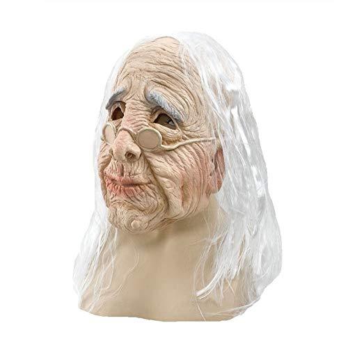 Kostüm Maske Halloween Realistische Alter Mann Maske Latex Maskerade Karneval Maske Latex Alte Frau - Alter Mann Und Frau Kostüm