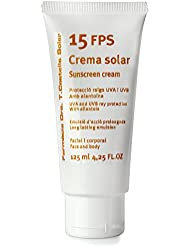 Sunscreen cream 15 FPS 125 ml