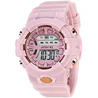 Swadesi Stuff Digital Pink Dial Kids Watch for Boys & Girls