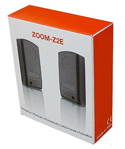 Z2E präsent fotocélula sensor infrarrojo de seguridad para puertas automáticas y puerta abrelatas con alcance de hasta 20 m
