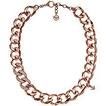 Emporio Armani collares Mujer acero inoxidable cristal redondo