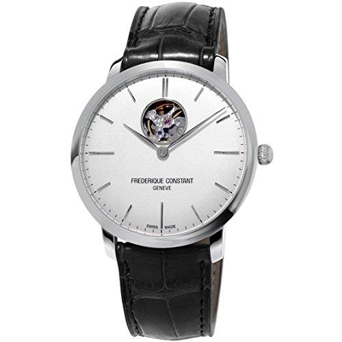 frederique-constant-slimline-homme-40mm-bracelet-cuir-noir-automatique-cadran-argent-montre-fc-312s4