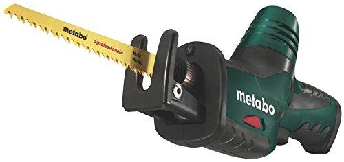 Metabo 602264890 Akku-Säbelsäge 10,8V PowerMaxx ASE 10.8 V, Schwarz, Grün