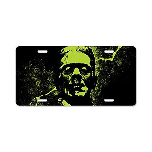 CafePress–Frankenstein Monster–Aluminium Nummernschild, vorne Nummernschild, Vanity Tag
