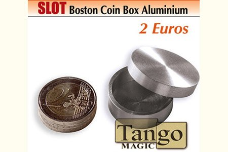 Slot Boston Box 2 Euro Aluminum (w/DVD)(A0017)by Tango - Trick