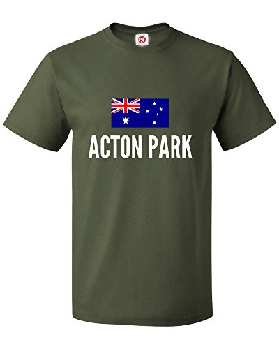 T-shirt Acton park city Green