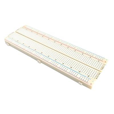 Adraxx MB102 830 Points Solderless Prototype Bread board for Arduino Raspberry pi