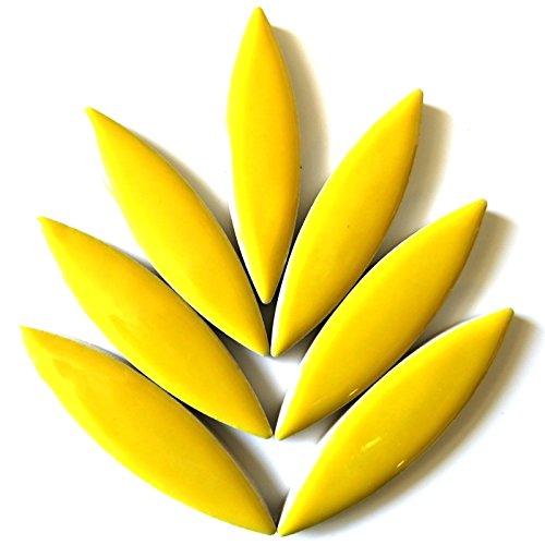 Craft groß aus Keramik Mosaik Fliesen-Blütenblätter für Mosaike-Citrus Gelb -